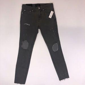 Pacsun skinniest light gray jeans